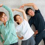 健康のためにラジオ体操を行いましょう