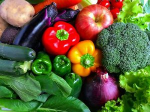 健康の為、野菜・果物を食べましょう