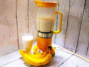 夏バテ予防にバナナジュースを!